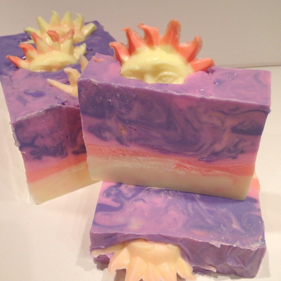 Tequlia Sunrise Shea Butter Artisan Soap