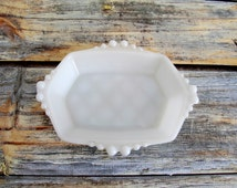Popular Items For Milk Glass Dishes On Etsy