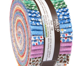 Just One Of Those Days Jelly Roll  Darlene Zimmerman K aufman Fabric Strips RU-504-40