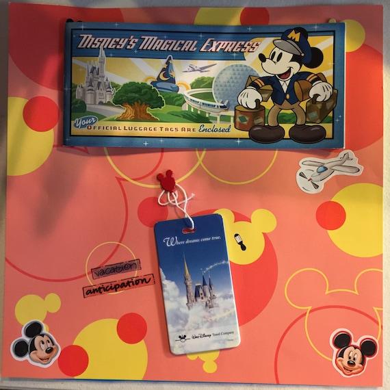 Scrapbooking: Disney Express