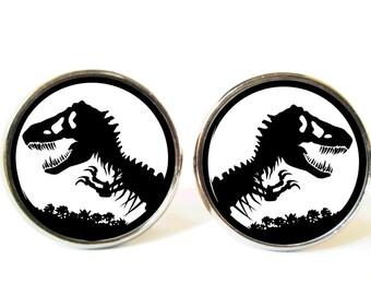 Dinosaur Cufflinks, Dinosaurs Cufflinks, Dinosaur Dinosaurs Cufflinks Cuff link Cufflink,Dinosaur accessory cufflink, Dinosaur jewelry