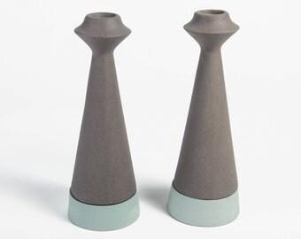 modern candle holder shabbat candlestick candle holder ceramic candlestick home decor judaica
