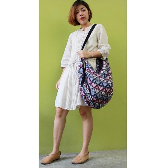Cotton Bag Hippie bag Hobo bag Shoulder bag Sling bag Messenger bag Tote bag Crossbody Purse Women bag Handbags (SH36)
