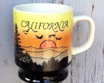 Sweet Vintage California Coffee Mug