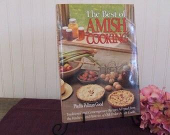 The Best of Amish Cooking, Amish Cookbook, Vintage Cookbook, 1988