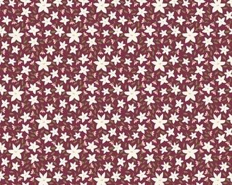 SALE!! 1 Yard Posy Garden by Carina Gardner for Riley Blake Designs- 5422 Purple Posy Floral