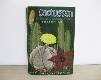 Vintage Cacti and other Succulents Book