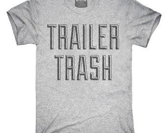 Redneck woman etsy for Tattooed white trash t shirt