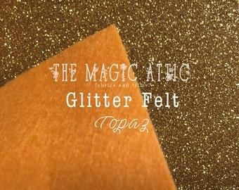 Glitter Felt - Topaz