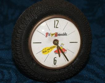 Motoring Advertising Clock Kilkenny Remoulds