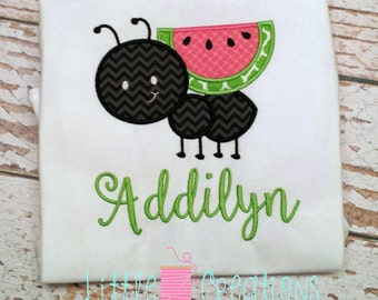 Cute Little Watermelon Ant Shirt