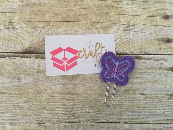 Butterfly Paper Clip/Planner Clip