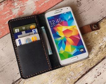 Sony Xperia Z5 wallet case, Sony Xperia Z5 case leather, Sony Xperia Z5 phone case, Sony Xperia Z5 cover, Xperia Z5 wallet with card slots