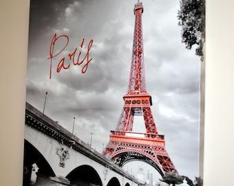 Paris Decor, Paris Bedroom Decor, Paris Print, Canvas Wall Art - Paris is always a good idea to bring to your home!