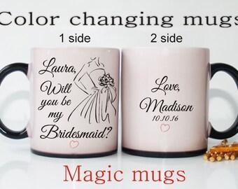 Will you be my Bridesmaid-Asking bridesmaid gift-Asking bridesmaid-Asking Maid of Honor-Bridesmaid gift-Bridesmaid mug-Gift for Bridesmaid