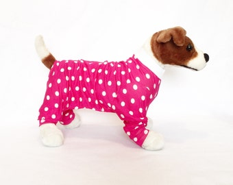 Nala's Dog Pajamas - Handmade Dog Clothes, Dog Clothing, Dog Apparel