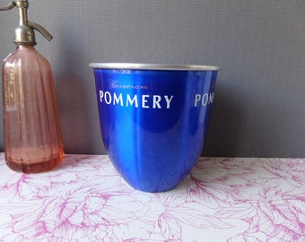 Champagne Bucket French Vintage ADVERTISING Champagne POMMERY/Barware