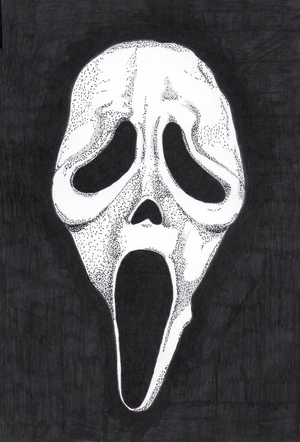 how to make a ghostface mask