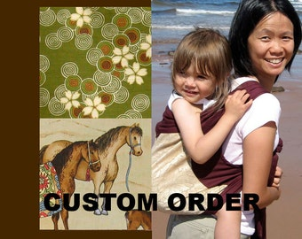 Made-to-Order - Brown - Mei Tai Baby Carrier
