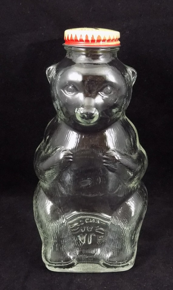 Snow Crest Bank Bottle Glass Bear Bank Snow Crest Beverages