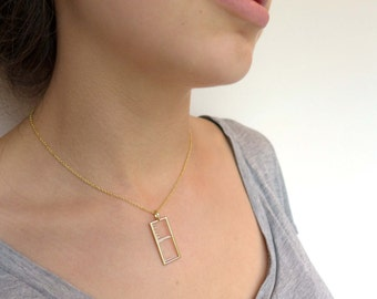 Mass Spectrum Pendant-Science Jewelry-Chemistry-Proteomics-Molecular