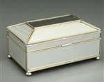 New Mirror Tea Caddy Box