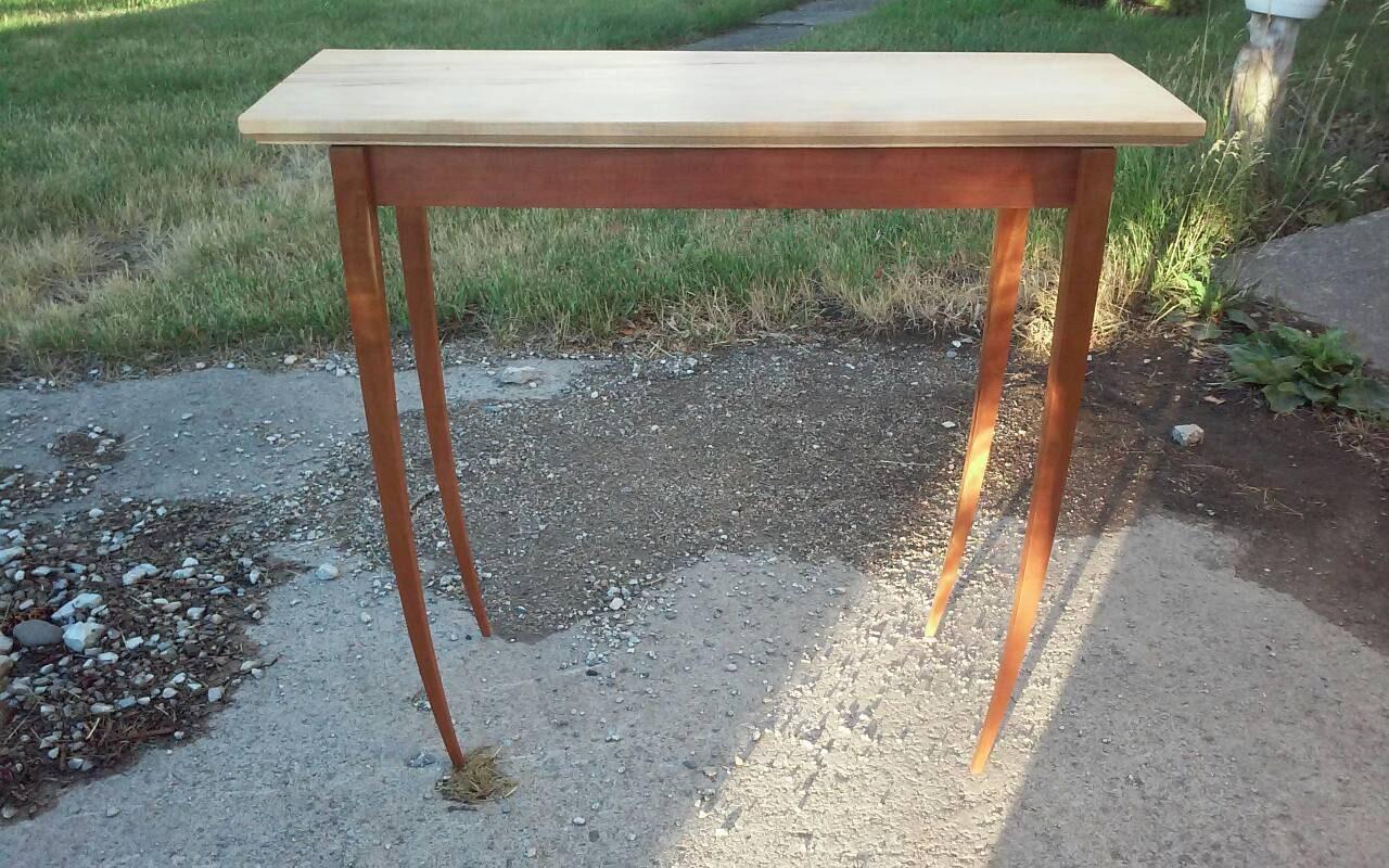 ... Console Table, Custom Made, Cherry, Walnut, Maple. Gallery Photo  Gallery Photo Gallery Photo ...