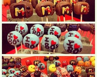 I love th 80s cake pops/ one dozen