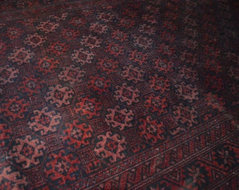 FREE SHIPPING Vintage Bostan Pattern Tribal Nomad Carpet