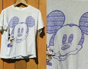 Vintage Mickey mouse tee | 80s Mickey Mouse tee | Mickey mouse shirt | 80s tees | 80s retro tee | Vintage Mickey Mouse shirt