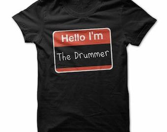 Hello, I'm the drummer shirt