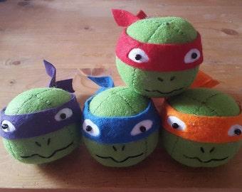 Teenage Mutant Hero Turtle Plush Balls