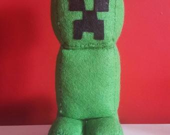 Handmade Minecraft Creeper