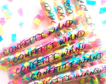 Confetti Wands (personalised)