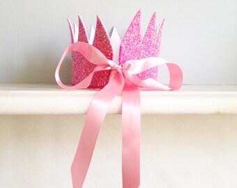 Simple Sparkle Crown (Pink)