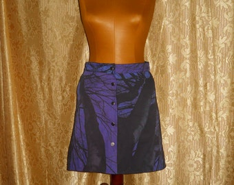Genuine vintage Ferrè Jeans  double face skirt  made in Italy
