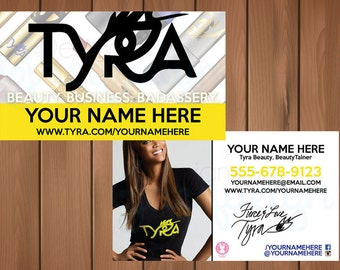 Tyra Beauty - Business Cards - Printed