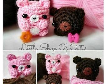 Cute Crochet Baby Bear Amigurumi