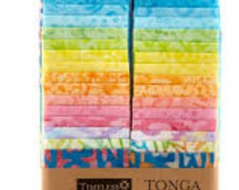 Timeless Treasures Tonga Treat Strips - Candy Shop