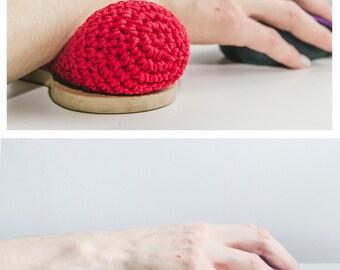 Keyboard Wrist rest, Soft Cotton Wrist Rest, by Kuklas.