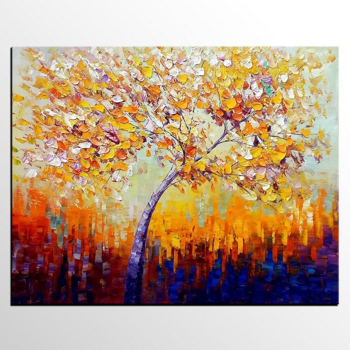 Oil Painting Wall Art Canvas Painting Tree Painting Canvas
