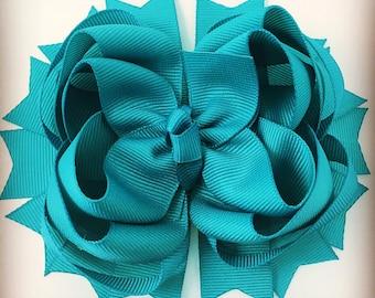 Triple layer Hair bow