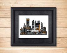 unique steelers wall art related items etsy