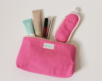 Make Up Bag - cosmetics bag - toiletries bag