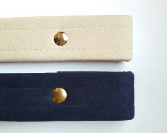 Navy / Dark Blue Ultrasuede Western Show Belts, Women's Small, Medium or Large, Admiral Blue Ultrasuede Show Belt