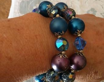 Vintage Glam Vendome bracelet. Great gift.