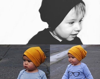 STRIPED slouchy beanie, toddler beanie, toddler slouchy hat, baby beanie, baby slouchy beanie, baby hat, toddler hat, baby boy hat