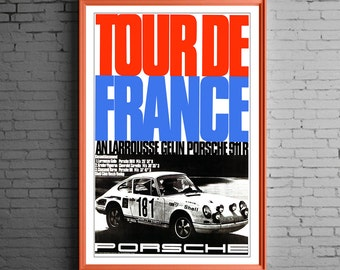 Porsche 911 R Tour De France