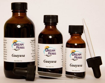 Guayusa: Lucid Dreaming Herbal Tincture