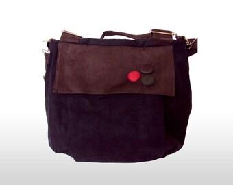 Corduroy Bags/Corduroy Purse/Handbags/Purse/Bags/Purse cross body bag/Women's bag